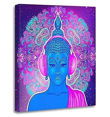 Amazon Com Emvency Painting Canvas Print Artwork Decorative