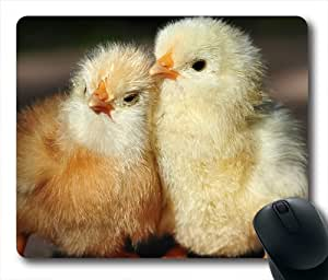 Chick Fond Oblong Shaped Mouse Pad