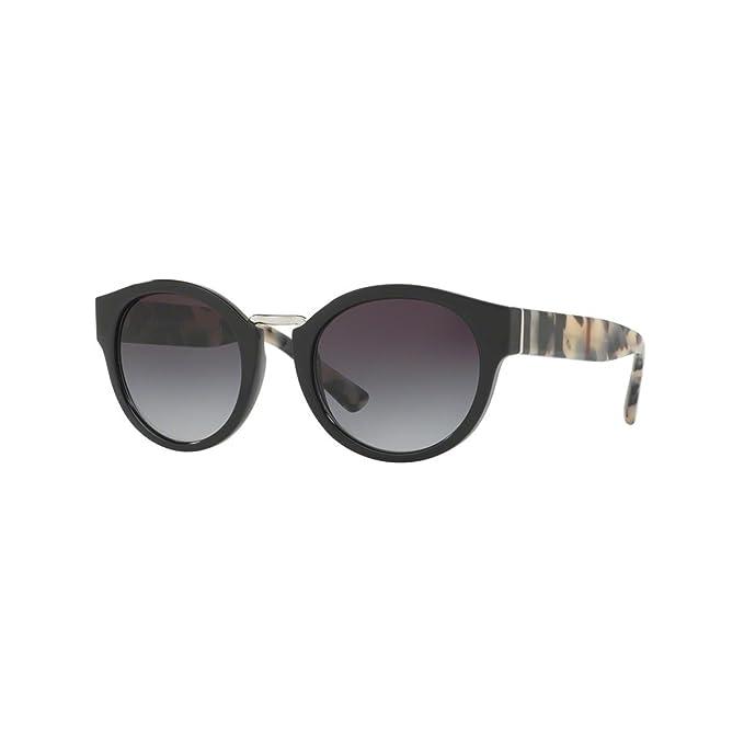 Amazon.com: Burberry be4227 de la mujer anteojos de sol ...