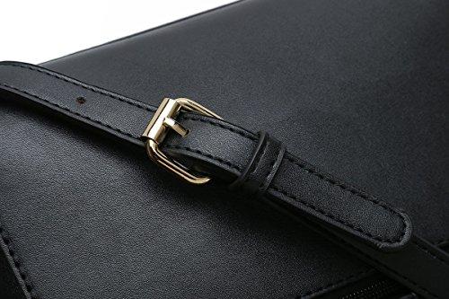 Crossbody Ladies for Shoulder Bags Designer Black Purses Women Medium Sized Handbags RqHwn5g1