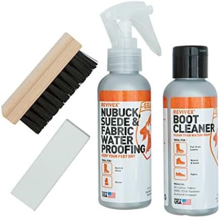 McNett ReviveX Nubuck, Suede & Fabric Boot Care Kit