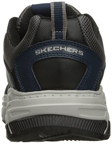 Skechers Hombres Fashion Sneakers Navy/Gray
