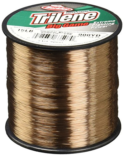- Berkley Trilene Big GameTM Monofilament - Coastal Brown - 10lb | 4.5kg - 1500yd | 1371m