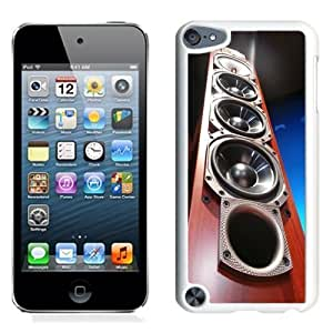 NEW Unique Custom Designed iPod Touch 5 Phone Case With Tower Speakers Wood_White Phone Case