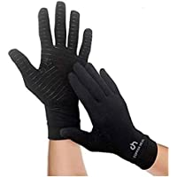 COPPER HEAL Arthritis Compression FULL HAND Gloves - BEST Medical Copper Gloves GUARANTEED to work for Rheumatoid…