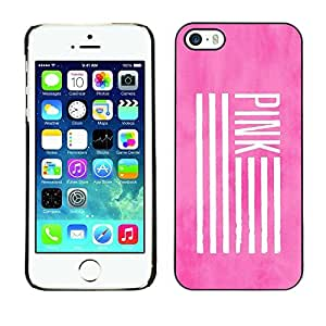 TaiTech / Hard Protective Case Cover - Flag Deep Meaning Use - Apple iPhone 5 / 5S