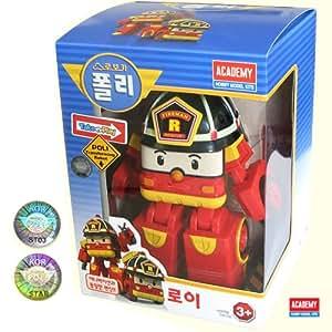 Robocar poli roy transforming robot toy by - Robocar poli pompier ...
