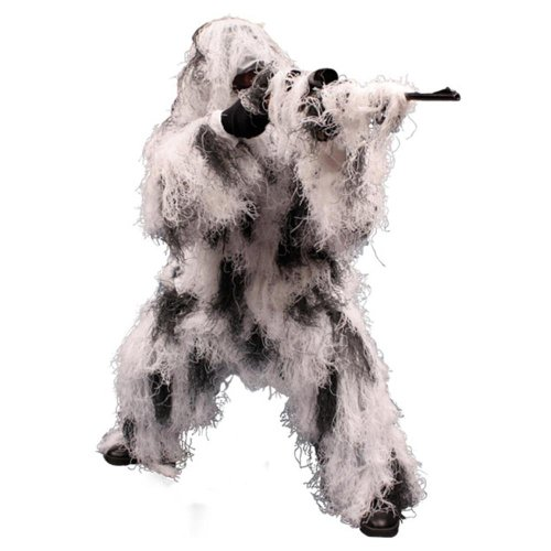 (Red Rock Outdoor Gear Men's Ghillie Suit, Snow Camouflage,)