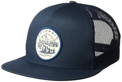 Columbia Men's Ale Creek Snap Back Hat, Collegiate Navy, PNW Patch, O/S