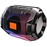 Aerizo A0005 Bass Splashproof Wireless Bluetooth Speaker with USB | Mic | Aux | SD Card for All Laptop, Tablet & Smartphone (Assorted Colour)