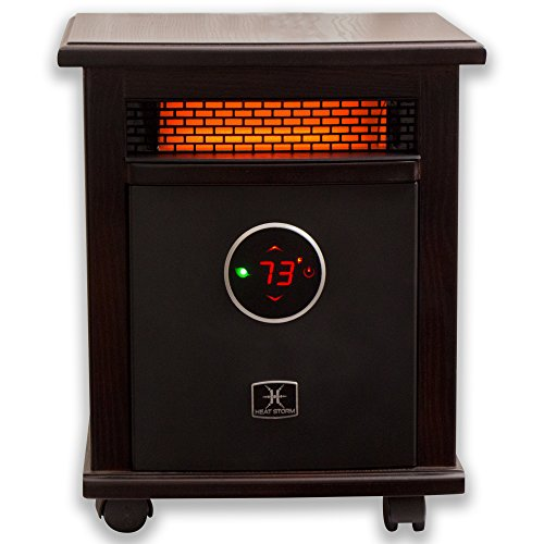 Heat Storm Deluxe Logan Portable Infrared Space Heater