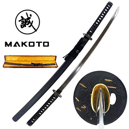 Makoto Handmade Sharp Katana Samurai Functional Sword 41