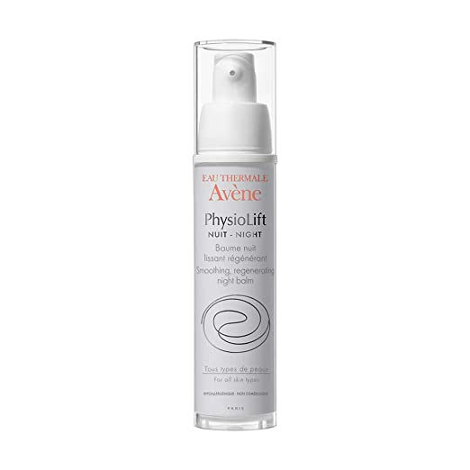 Avene PhysioLift Smoothing Regenerating Night Balm, 1er Pack (1 x 30 ml)