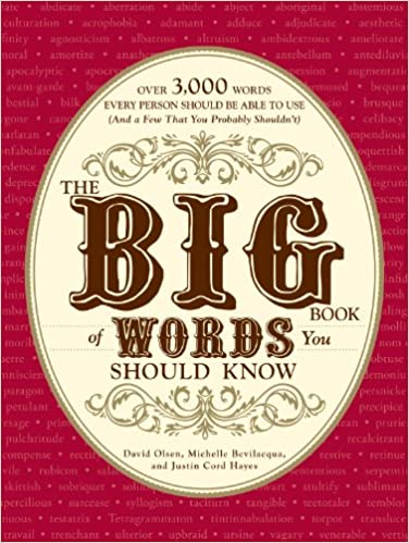 Download gratis pdf bøger til ipad The Big Book of Words You Should Know: Over 3,000 Words Every Person Should be Able to Use (And a few that you probably shouldn't) B0047T73V4 DJVU