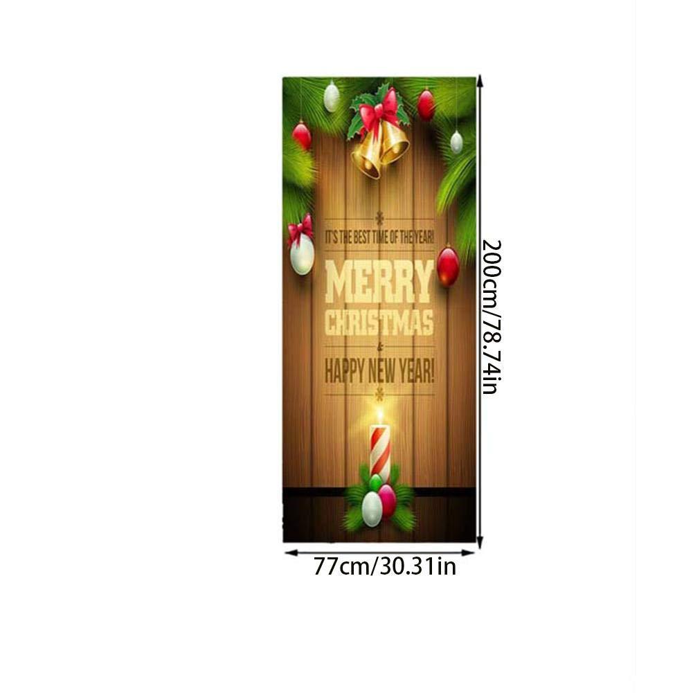Weihnachtstür Aufkleber Weihnachten 3D Tür Aufkleber Schlafzimmer ...