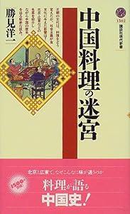 Paperback Shinsho Labyrinth of Chinese cuisine (Kodansha Gendaishinsho) (2000) ISBN: 406149502X [Japanese Import] Book