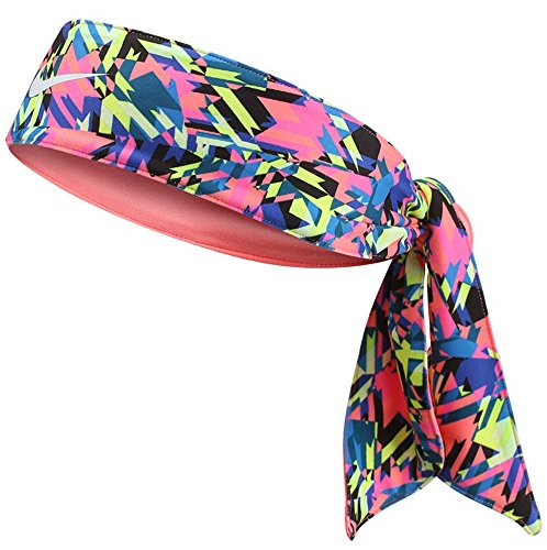 Dri Fit Head Tie - Nike Dri-Fit Head Tie SD 3.0 Pink Blast/Lava