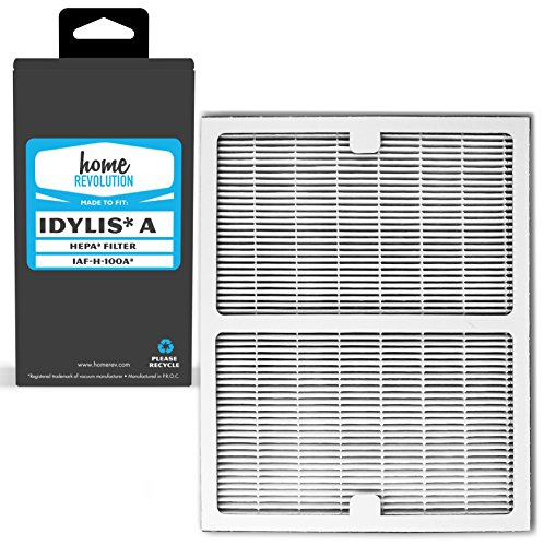 Home Revolution Replacement HEPA Filter, Fits Idylis IAP-10-100 and IAP-10-150 Air Purifiers and Type A Part - Cadr Air