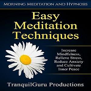 Easy Meditation Techniques Speech