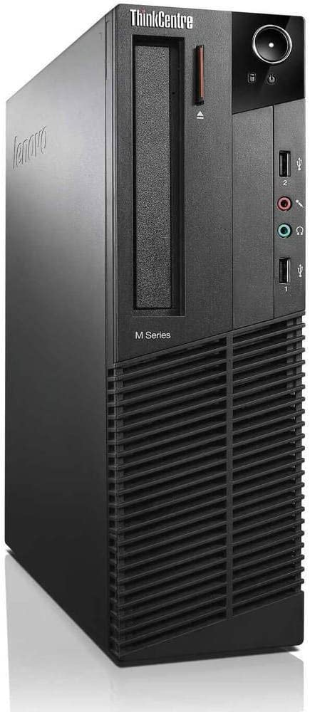 Lenovo ThinkCentre M73 SFF Small Form Factor Business Desktop Computer, Intel Dual-Core i3-4130 3.4GHz, 8GB RAM, 500GB HDD, USB 3.0, WiFi, DVD, Windows 10 Professional (Renewed)