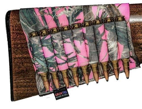 GROVTEC 1930702 Get Buttstock Shell Holder Pink Hunting G...