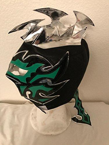 Lucha Dragons Costumes (Kalisto lucha dragons kids mask Black w/ green sin cara mil LUCHA Libre)