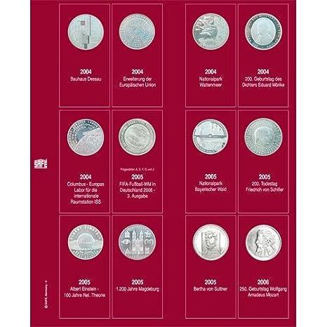 Amazoncom Safe Ergänzungsblatt 7342 2 Für 10 Euro Münzen 2004 2006