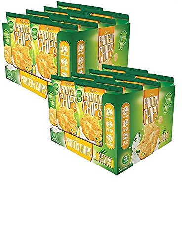 Quest Nutrition Protein Chips, Sour Cream and Onion, 16 Count