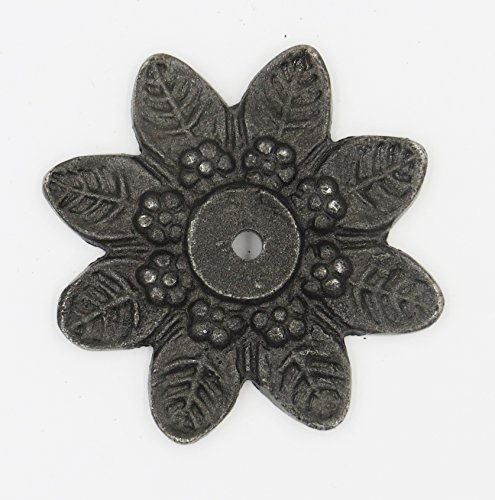 Star Shaped Antique Metal Back Plate for Knobs and ()