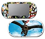 How to Train Your Dragon 2 Hiccup Toothless Astrid Video Game Vinyl Decal Skin Sticker Cover for Sony Playstation Vita Slim 2000 Series System