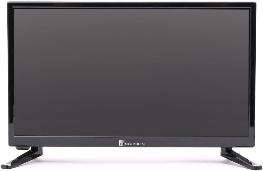 Uni Vision UN20 51 cm (20 Pulgadas) de televisor HD Ready, DVB-S/S2/C/T/T2, Ci +, USB, HDMI, euroconector, 230/12 V, Incluye 12 V de Coche Enchufe: Amazon.es: Electrónica