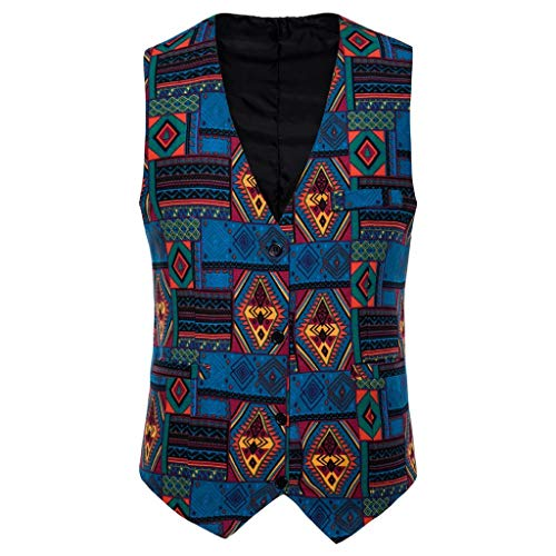 Funniest Couples Costumes Ever (2019 Mens Waistcoat Beautyfine Casual Vintage Printed Ethnic Style Sleeveless Business Slim Button Dress Vest Tops)