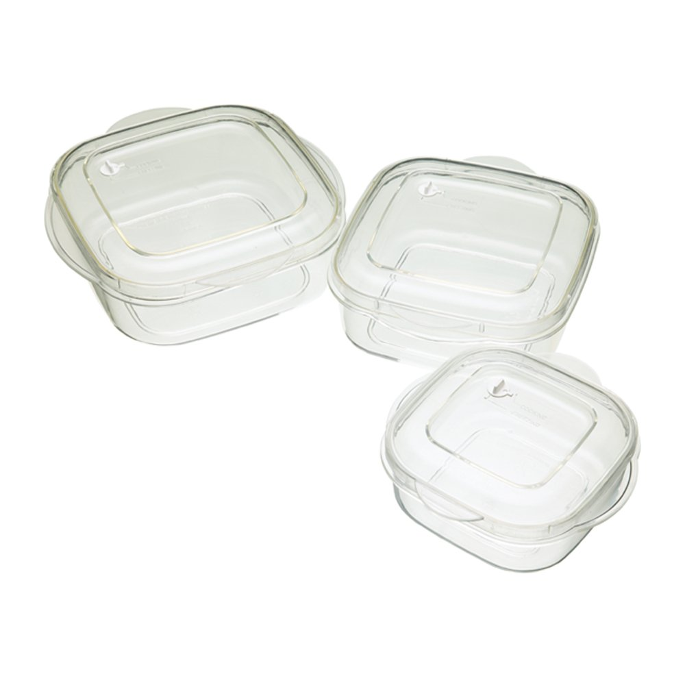 Kitchen Craft Microwave Casserole 3-Piece Set: Amazon.co.uk ... | {Mikrowellengeschirr 41}