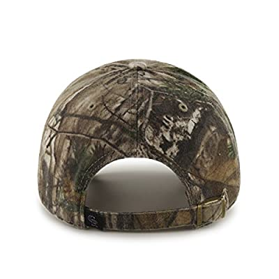 MLB Colorado Rockies Clean Up Adjustable Hat, One Size, Realtree Camouflage