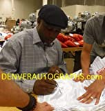 Lennox Lewis Autographed/Signed White Boxing Trunks 14666 - JSA Certified - Autographed Boxing Robes and Trunks