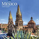 Mexico 2020 12 x 12 Inch Monthly Square Wall Calendar, Mexican America Scenic Nature (Spanish and English Edition)