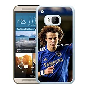Chelsea David Luiz (2) Durable High Quality HTC ONE M9 Phone Case