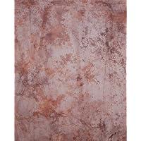 CowboyStudio Photo Studio Sheer Light Brown Marbled Gossamer Cloth C019, 10 x 20 ft