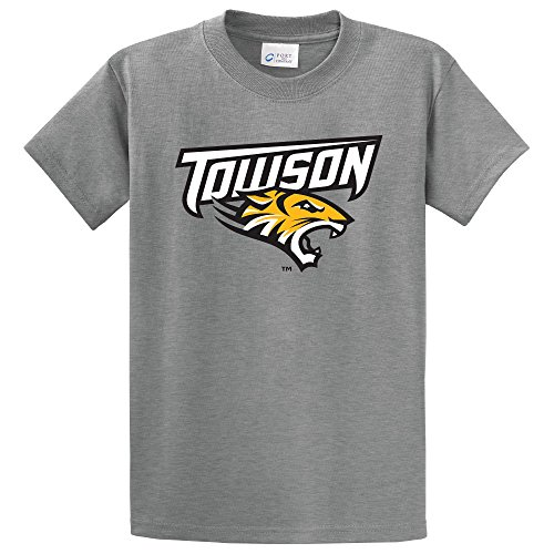 NCAA Towson Tigers Short Sleeve Tee, X-Large, Athletic Heather