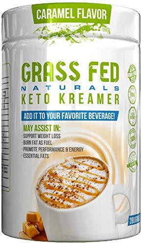 Grassfed Natural Keto Creamer (Caramel Macchiato) ()