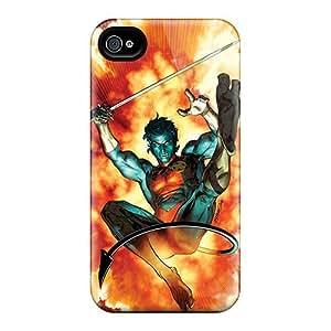 Shockproof Hard Cell-phone Case For Iphone 4/4s (zkS20169TgmV) Customized Beautiful Nightcrawler I4 Skin