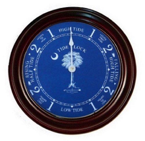 Glass South Carolina Clock (9 1/2