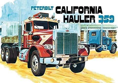 Amazon amt 866 125 peterbilt 359 california hauler amt 866 125 peterbilt 359 quotcalifornia haulerquotconventional publicscrutiny Images