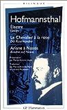 Electre - Le Chevalier à la rose - Ariane à Naxos (édition bilingue français-allemand)