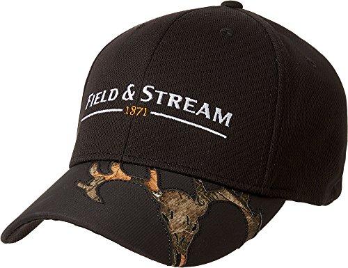 Field & Stream Laser Cut Skull Visor Hat - Black, ML