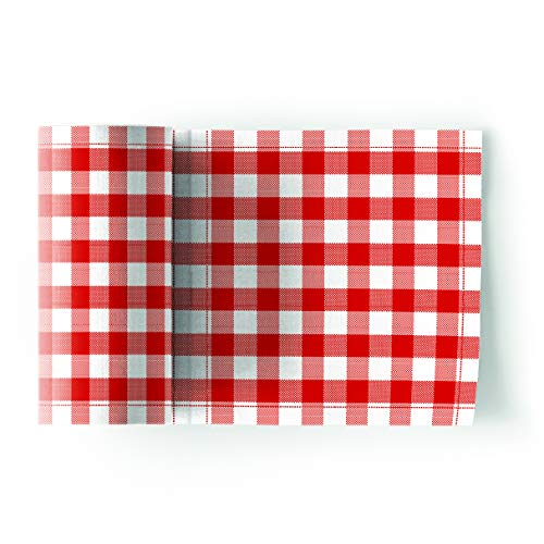 MY DRAP Cocktail Napkin, Cloth Napkins 4.5 x 4.5 (Gingham, ()