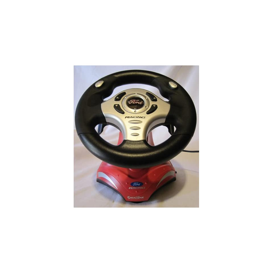 Ford Racing Steering Wheel, Plug & Play