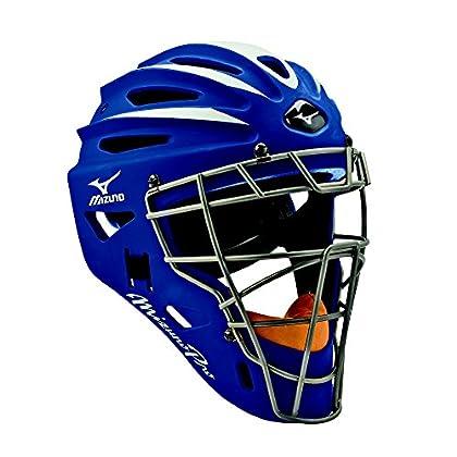 Image of Catcher Helmets Mizuno Pro Catcher's Helmet G2,7 1/2 Inch - 7 1/8 Inch, Navy
