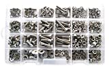 Generic ce Ki Assortment 75 Piece Ki Master Kit Kit As Stainless Steel r Kit Assor (475 Piece Kit) Hex Head B Hex Head Bolt