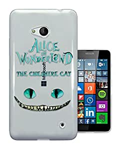 c0142 - Alice in Wonderland The Cheshire Cat Design Nokia Lumia 640 Fashion Trend CASE Gel Rubber Silicone All Edges Protection Case Cover